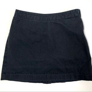 Lands' End Girls Uniform Navy Blue Skort Sz 7